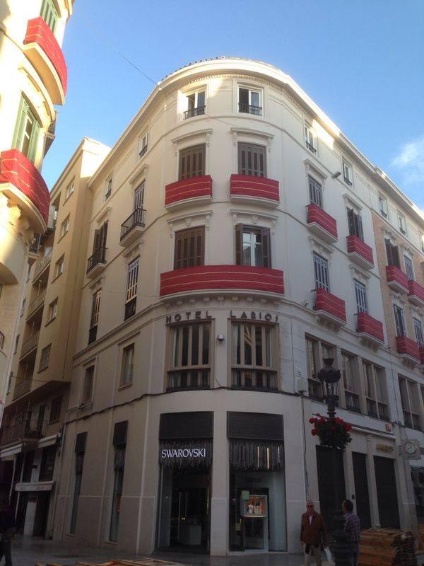 fachada hotel larios 2